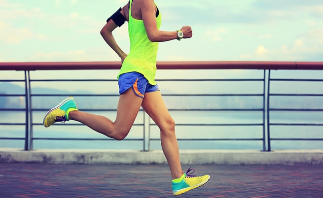 how to lose weight with running